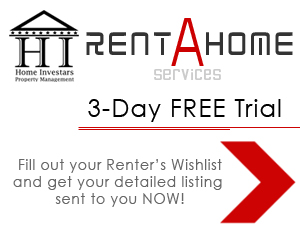 Fill out the Renter's Wish List to Subscribe to Rent-A-Home Service